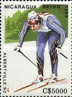 [Airmail - Winter Olympic Games - Albertville, France 1992, Typ CDE]