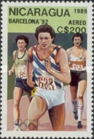 [Airmail - Olympic Games - Barcelona, Spain 1992, Typ CDH]