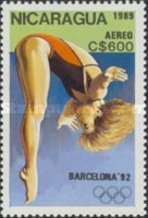 [Airmail - Olympic Games - Barcelona, Spain 1992, Typ CDI]