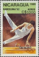 [Airmail - Olympic Games - Barcelona, Spain 1992, Typ CDJ]