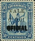 [Official Stamps of 1914 Surcharged, type CE3]