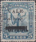 [Official Stamps of 1914 Surcharged, type CE5]