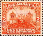 [Government Building in Managua and León Cathedral Both in 6 Different Frames, Typ CH]