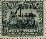 [Government Building in Managua and León Cathedral with Signatures -  Stamps of 1933 Overprinted