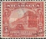 [Government Building in Managua and León Cathedral Stamps of 1914 & 1922 in New Colours, Typ CK22]