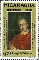 [The 460th Anniversary of Catholic Church in Nicaragua, Typ CMF]