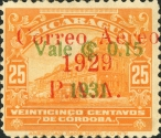 [Airmail - Stamps of 1929 Surcharged