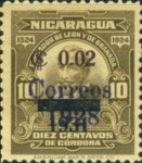 [The 400th Anniversary of the Founding of Leon & Granada Stamp of 1928 Surcharged and Overprinted