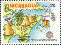 [The 500th Anniversary of the Discovery of Nicaragua, Typ ECB]