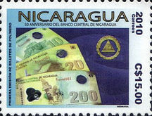 [The 50th Anniversary of the Nicaragua Central Bank, Typ EHV]