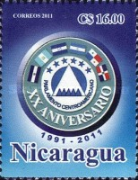 [The 20th Anniversary of the Central American Parliament, Typ EHY]
