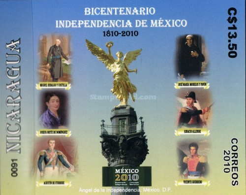 [The 200th Anniversary (2010) of Mexican Independence, Typ EIB]
