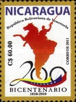 [The 200th Anniversary (2010) of Venezulean Independence, type EIQ]