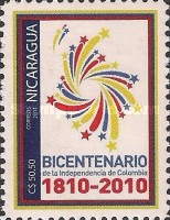 [The 200th Anniversary (2010) of Colombian Independence, type EIR]