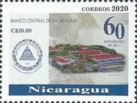 [The 60th Anniversary of the BCN - Central Bank of Nicaragua, type EKN2]