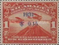 [Airmail - Airplanes over Momotombo Stamps of 1929 Surcharged, Typ FQ7]