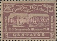 [Airmail - Earthquake at Managua, Typ GN13]