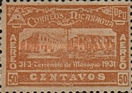 [Airmail - Earthquake at Managua, Typ GN16]