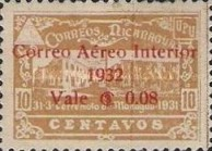 [Airmail - Earthquake at Managua Overprinted