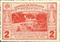 [Inauguration of the Railroad from San Jorge to San Juan del Sur, Typ GV]