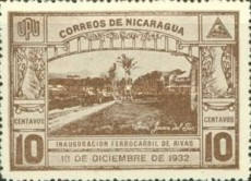[Inauguration of the Railroad from San Jorge to San Juan del Sur, Typ GX]