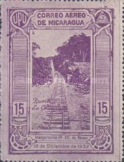 [Airmail - Inauguration of the Railroad from San Jorge to San Juan del Sur, Typ GZ]