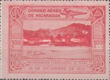 [Airmail - Inauguration of the Railroad from San Jorge to San Juan del Sur, Typ HD]