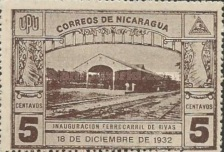 [Inauguration of the Railroad Leon to El Sauce, Typ HG]