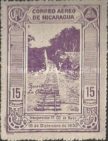 [Airmail - Inauguration of the Railroad Leon to El Sauce, Typ HJ]