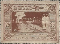 [Airmail - Inauguration of the Railroad Leon to El Sauce, Typ HL]