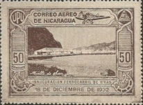 [Airmail - Inauguration of the Railroad Leon to El Sauce, Typ HM]