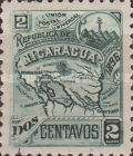 [Map of Nicaragua - Without Watermark, type M1]