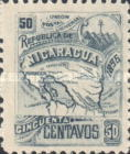 [Map of Nicaragua - With Watermark, type M14]
