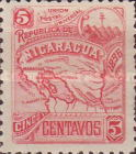[Map of Nicaragua - Without Watermark, type M2]