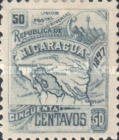 [Map of Nicaragua - Without Watermark, type M23]