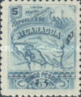 [Map of Nicaragua - Without Watermark, type M26]
