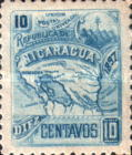 [Map of Nicaragua - With Watermark, type M30]