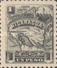 [Map of Nicaragua - With Watermark, type M33]
