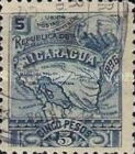 [Map of Nicaragua - Without Watermark, type M8]