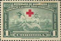 [Airmail - The 80th Anniversary of Red Cross, type MF]