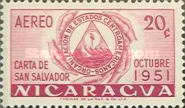 [Airmail - Foundation of Organization of Central American States, type PZ1]