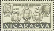 [Airmail - Foundation of Organization of Central American States, type QA1]
