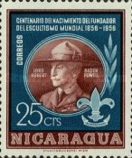 [The 100th Anniversary of the Birth of Lord Robert Baden-Powell, Founder of the Scout Movement, 1857-1941, Typ TG]