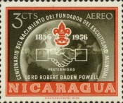 [Airmail - The 100th Anniversary of the Birth of Lord Robert Baden-Powell, Founder of the Scout Movement, 1857-1941, Typ TI]