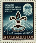 [Airmail - The 100th Anniversary of the Birth of Lord Robert Baden-Powell, Founder of the Scout Movement, 1857-1941, Typ TJ]