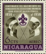 [Airmail - The 100th Anniversary of the Birth of Lord Robert Baden-Powell, Founder of the Scout Movement, 1857-1941, Typ TL]