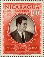 [Election of President Luis A. Somoza, Typ TS]