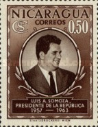 [Election of President Luis A. Somoza, Typ TS3]