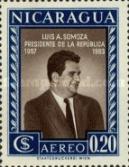 [Airmail - Election of President Luis A. Somoza, Typ TT]