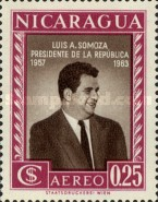 [Airmail - Election of President Luis A. Somoza, Typ TT1]